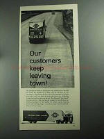 1968 United Van Lines Ad - Keep Leaving Town
