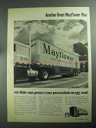 1968 Mayflower World-Wide Movers Ad - Air-Ride Vans