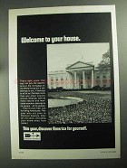 1968 Discover America Ad - Welcome to Your House