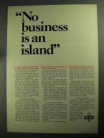 1968 BBB Better Business Bureau Ad - An Island