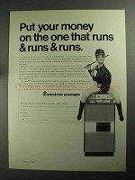 1968 Dennison Copier Ad - Put Your Money On