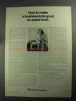 1968 Dennison Compact Copier Ad - Good on Paperwork