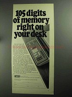 1968 Canon 167 Electronic Calculator Ad - 105 Digits