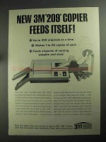 1968 3M 209 Copier Ad - Feeds Itself