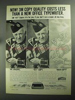 1968 3M 107 Copier Ad - Quality Costs Less