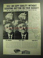 1968 3M 107 Copier Ad - Scraping Bottom Budget