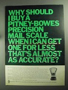 1968 Pitney-Bowes Mail Scale Ad - Why Should I Buy