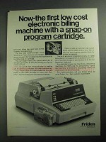 1968 Friden 5005 Computyper Ad - Program Cartridge