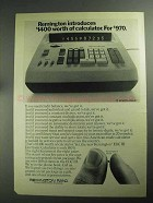 1968 Remington EDC III Electronic Calculator Ad
