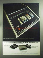1968 Sharp Calculator Ad - CS-22A, CS-32A, CS-17B
