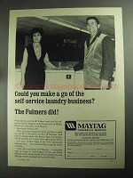 1968 Maytag Commercial Washers Ad - Self-Service