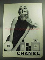 1968 Chanel No. 5 Perfume Ad - Every Woman Wants