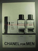 1968 Chanel Spray Cologne, Cologne and After Shave Ad