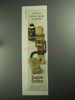 1968 English Leather Ad - Shower Soap on a Cord +