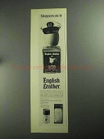 1968 English Leather All-Purpose Lotion Ad - Skippers