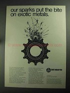 1968 Colt Elox Division Electrical Discharge Machine Ad