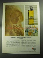 1968 UOP Universal Oil Products Ad - Give Fragrances
