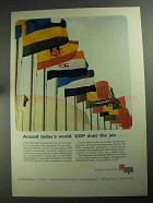 1968 UOP Universal Oil Products Ad - Today's World