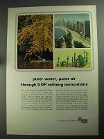 1968 UOP Universal Oil Products Ad - Purer Water