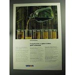 1968 Union 76 Oil Ad - Unicracking