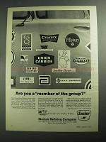 1968 Sinclair Oil Ad - Are You a Member of the Group?