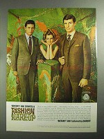 1968 Botany 500 Natural Gentleman Suits Ad - Flare-Up