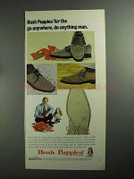 1968 Hush Puppies Shoes Ad - Go-Anywhere Do-Anything