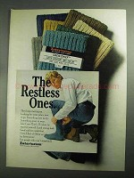 1968 Interwoven Crew-Chief Socks Ad - Restless Ones