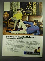 1968 Sears The Men's Store Kings Road Collection Ad