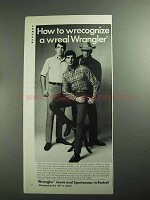 1968 Wrangler Jeans and Sportswear Ad - Wrecgonize