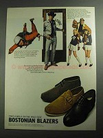 1968 Bostonian Blazers Shoes Ad - Walk on Wild Side