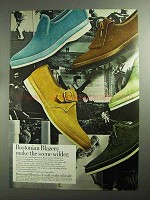 1968 Bostonian Blazers Shoes Ad - Make Wilder
