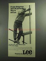 1968 Lee Ad - If Your Dungarees Don't Fit Perfectly