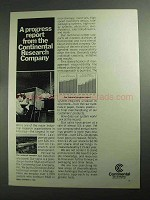 1968 Continental Can Company Ad - A Progress Report