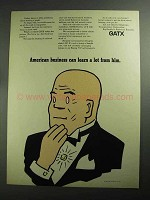 1968 GATX Ad - American Business Can Learn A Lot