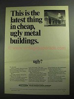 1968 Butler Buildings Ad - Latest Thing In Cheap