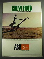 1968 Allied Chemical Ad - Grow Food