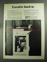 1968 Oasis Water Coolers Ad - Executive Lunch-In