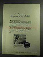 1968 Warner & Swasey Turret Punch Press Ad - Depression