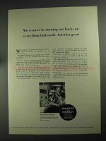 1968 Warner & Swasey Automatic Lathe Ad - America Great