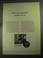 1968 Warner & Swasey Field Engineers Ad - Big Profits