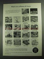 1968 Warner & Swasey Machinery Ad - What's New
