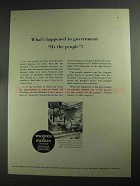 1968 Warner & Swasey 4-A Turret Lathe Ad, By the People
