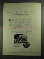 1968 Warner & Swasey Outdoor Lift Truck Ad - Serve It
