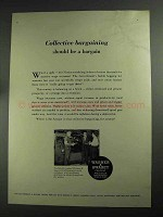 1968 Warner & Swasey Field Engineers Ad - Bargaining