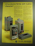 1968 Allen-Bradley Motor Controls Ad - Handsome Family
