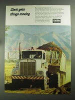 1968 Clark Equipment Ad - More States for Interstate 80