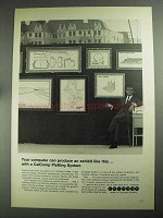 1968 CalComp Plotting Systems Ad - Produce an Exhibit