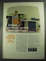 1968 Control Data CDC 200 User Terminal Ad - Instant