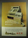 1968 NCR Change Dispenser Ad - Correct Every time
